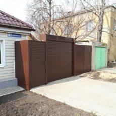 Рулонные ворота Воронеж для частного дома