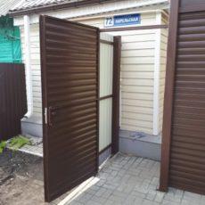 Для частного дома рулонные ворота Воронеж