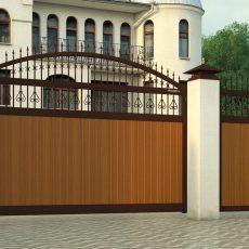 привод doorhan sliding-1300 на воротах